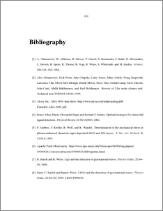 Bibliography thesis