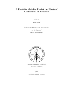 Concrete phd thesis
