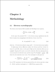 Methodology chapter dissertation