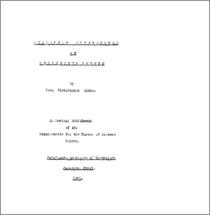 Master thesis derivatives