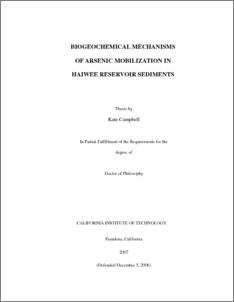 Dissertation aknowledgement