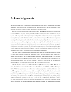 How to Write a Acknowledgement for Project