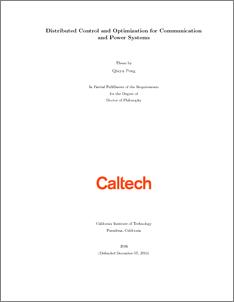 Optimal power flow phd thesis
