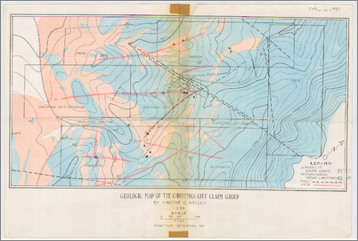 Darwin California Map.Geology And Ore Deposits Of The Darwin Silver Lead Mining District