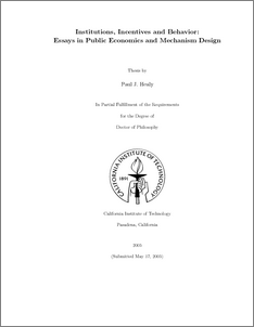thesis front page template