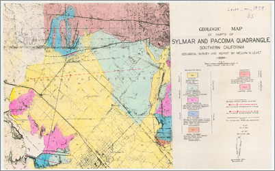Geology Of Parts Of The Pacoima And Sylmar Quadrangles Caltechthesis