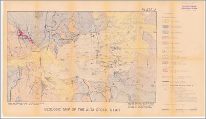 Geology of the Alta stock, Utah - CaltechTHESIS on map of mountain green utah, map of brighton utah, map of santa clara utah, map of genola utah, map of copperton utah, map of south weber utah, map of silver fork utah, map of west valley city utah, map of summit park utah, map of elk ridge utah, map of timber lakes utah, map of henefer utah, map of vineyard utah, map of little cottonwood canyon utah, map of snowbird utah, map of park city utah, map of draper utah, map of box elder county utah, map of millcreek utah, map of great salt lake utah,