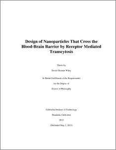 Phd thesis on nanoparticles