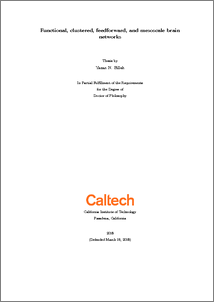 Caltech thesis repository